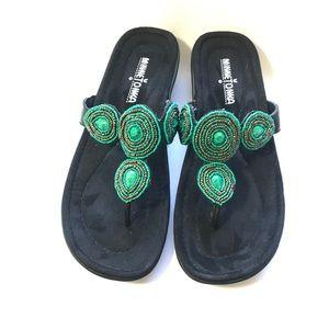 Minnetonka boots sandals ( size 7)